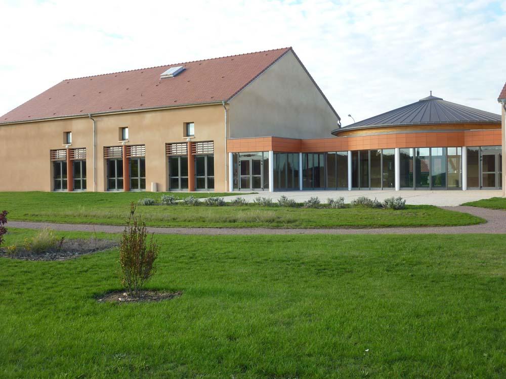 Espace Culturel et de Loisirs, Appoigny - ATRIA Architectes à Auxerre, Bourgogne