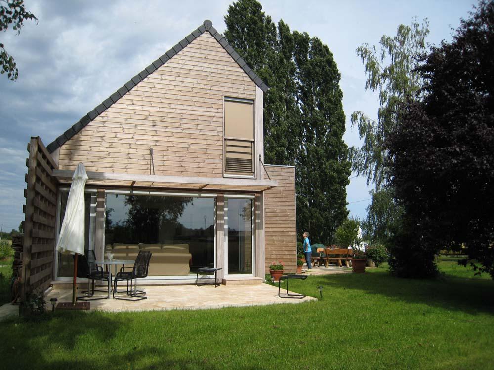 Maison Extension, Chaumot - ATRIA Architectes à Auxerre, Bourgogne