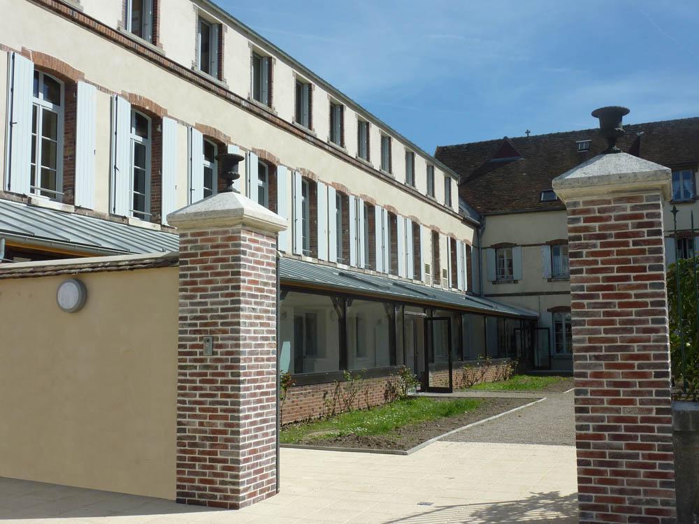 Maison Congréganiste, Sens - Rénovation de la Maison de retraite La Providence - ATRIA Architectes à Auxerre, Bourgogne