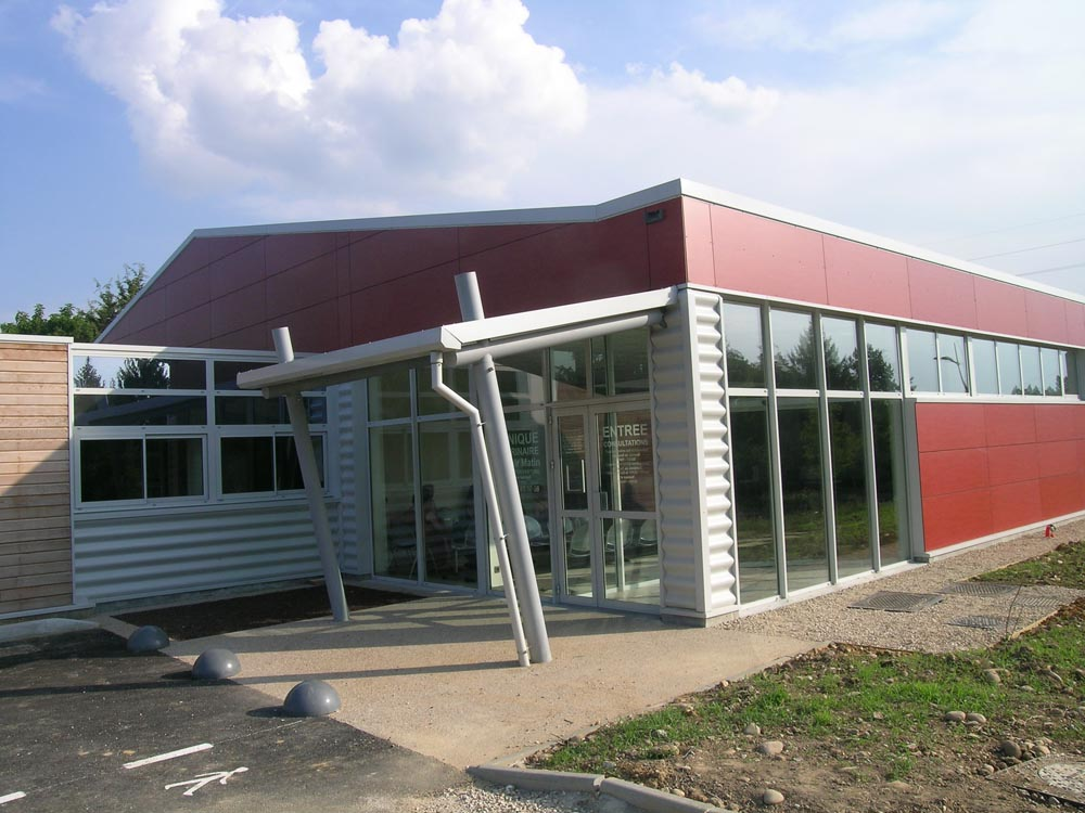 Clinique Vétérinaire, Bourg-en-Bresse - ATRIA Architectes à Auxerre, Bourgogne