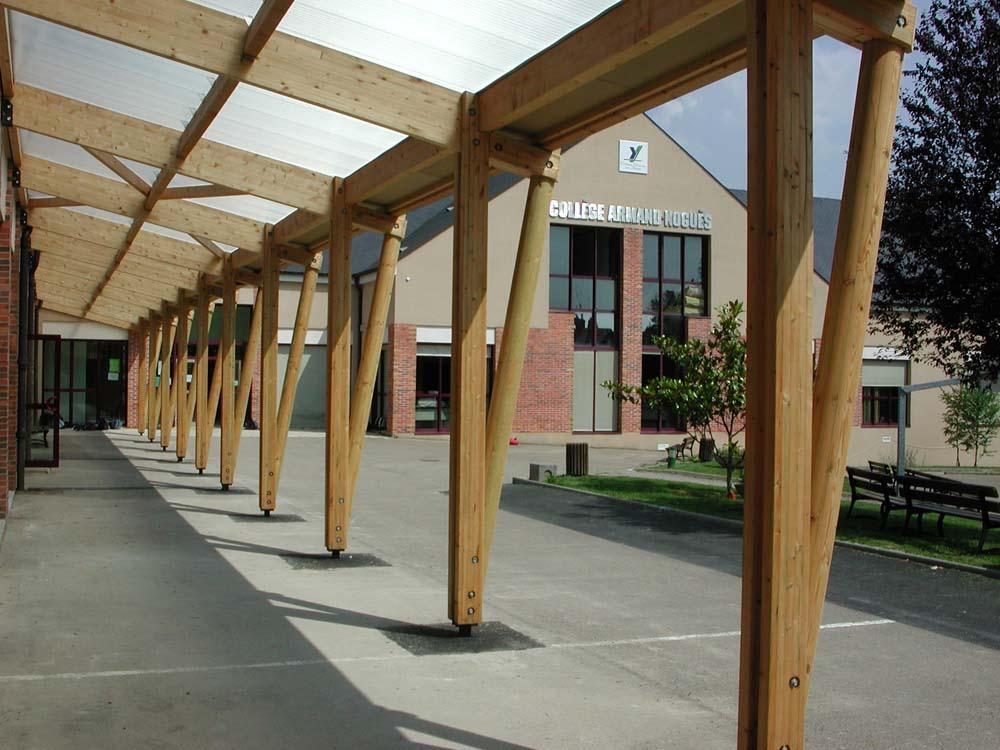Collège Armand Noguès, Saint Fargeau - ATRIA Architectes à Auxerre, Bourgogne