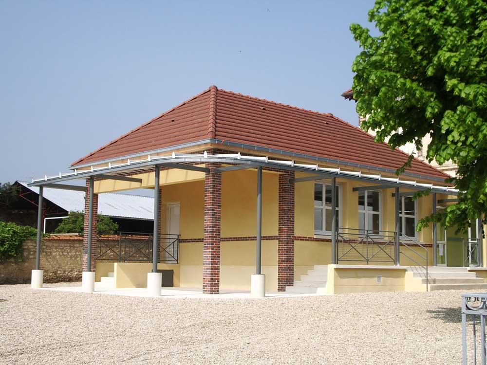Ecole Primaire, Poilly-sur-Tholon - ATRIA Architectes à Auxerre, Bourgogne